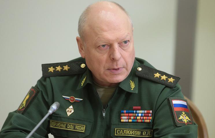 Главком СВ РФ Олег Салюков.