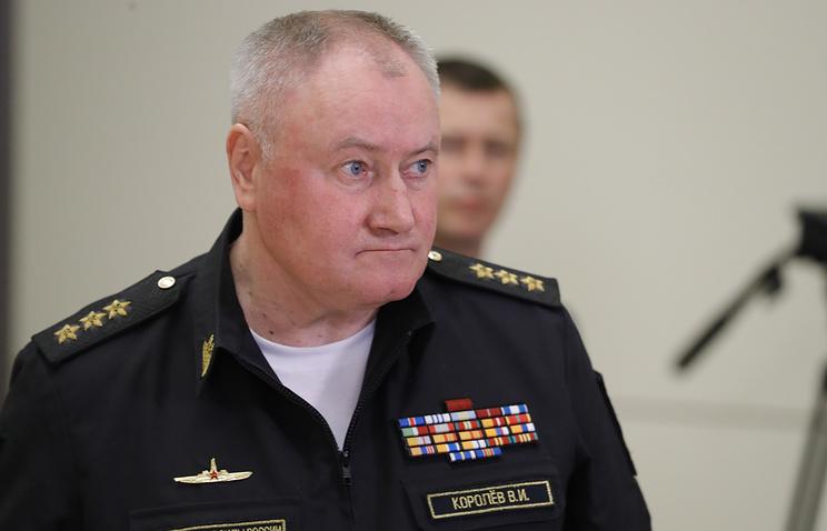 Главком ВМФ России Владимир Королев.