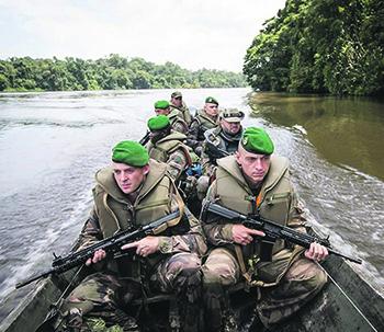 Главная задача Иностранного легиона – воевать за интересы Парижа на заморских территориях. Фото с сайта www.legion-etrangere.com