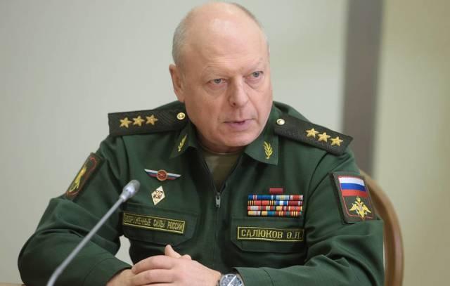 Главнокомандующий Сухопутных войск России генерал-полковник Олег Салюков