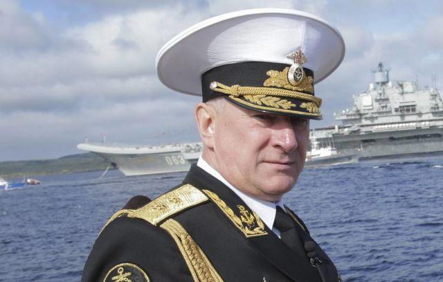 Главнокомандующий Военно-морским флотом России Николай Евменов