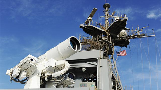 Главным, что делает лазер выгодной системой оружия, является стоимость выстрела