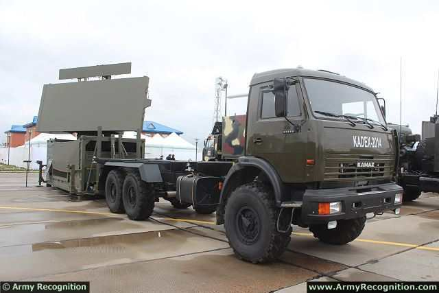 "РЛС ""НУР"" (ThalesRaytheonSystems Ground Master 400) в экспозиции выставки KADEX-2014. Астана, май 2014 года."
