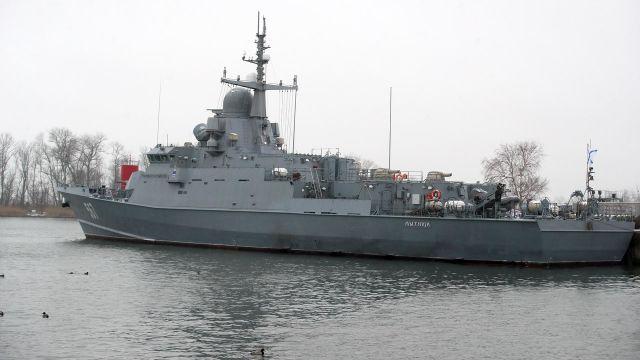 Головной малый ракетный корабль (МРК) «Мытищи»