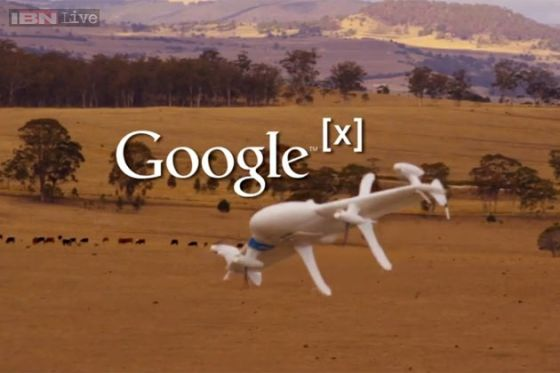 БЛА Google
