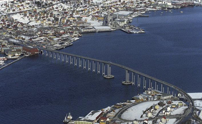Город Тромсе. Норвегия.