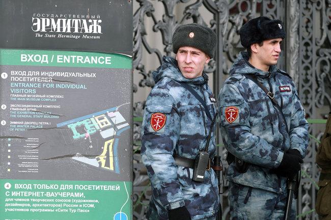 Госдума поддержала проект об обязанности росгвардейцев представляться