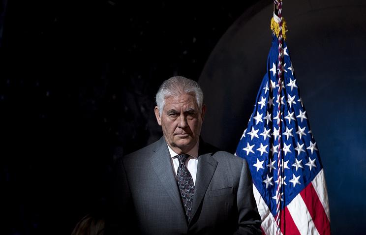 Госсекретарь США Рекс Тиллерсон.