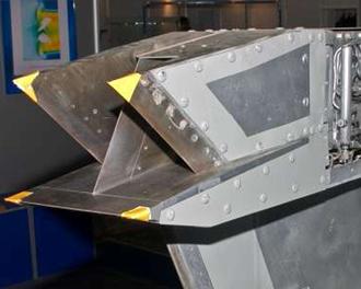 Один из экспериментальных ГПВРД, созданных в ЦИАМ.