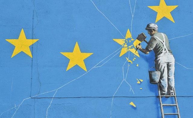 Графити в Дувре, Великобритания