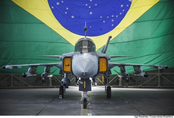 Макет истребителя Gripen-NG