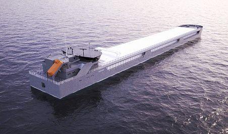 Грузовое судно проекта «Финвал-8000»