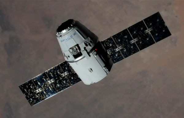 Грузовой космический корабль SpaceX Dragon