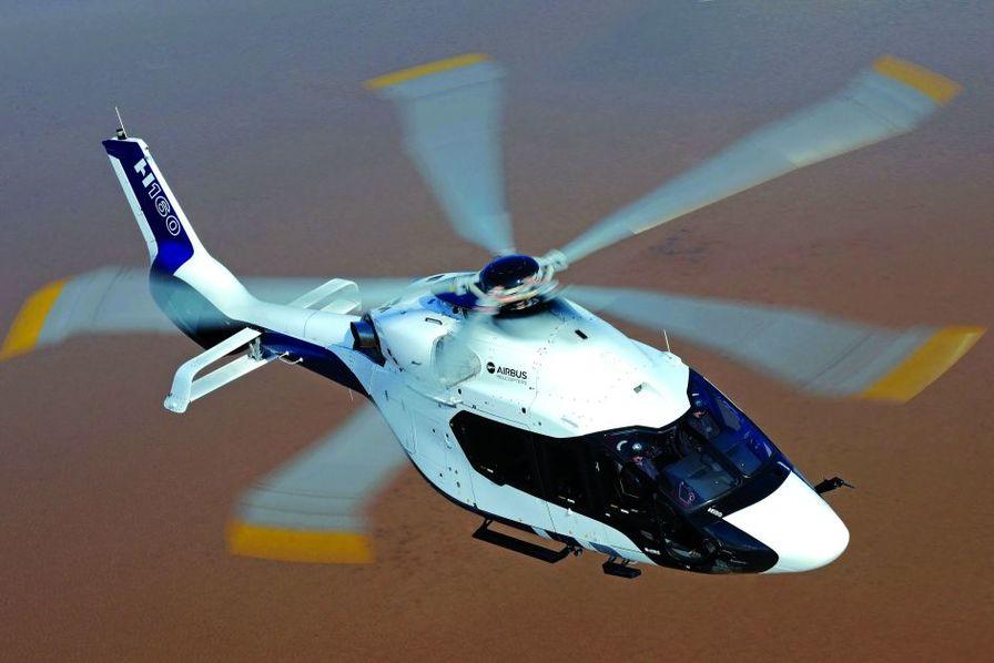 Первый прототип вертолета Airbus Hеicopters H160 (РТ1, регистрация F-WWOG).