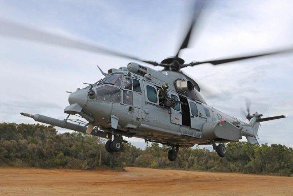 Вертолет Caracal H225M.