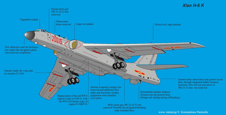 Бомбардировщик H-6 - Галерея - ВПК.name