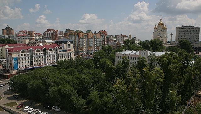 Хабаровск, Россия. Архивное фото.