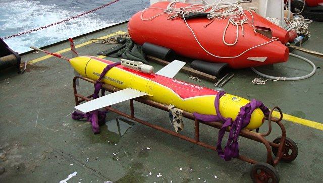 """Автономный необитаемый подводный аппарат (АНПА) """"Хайи-7000"""" (Haiyi-7000)."""