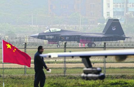 Характеристики истребителя 5-го поколения J-31 остаются неизвестными, но факт появления самолета свидетельствует о высоком потенциале авиапрома КНР. Фото Reuters