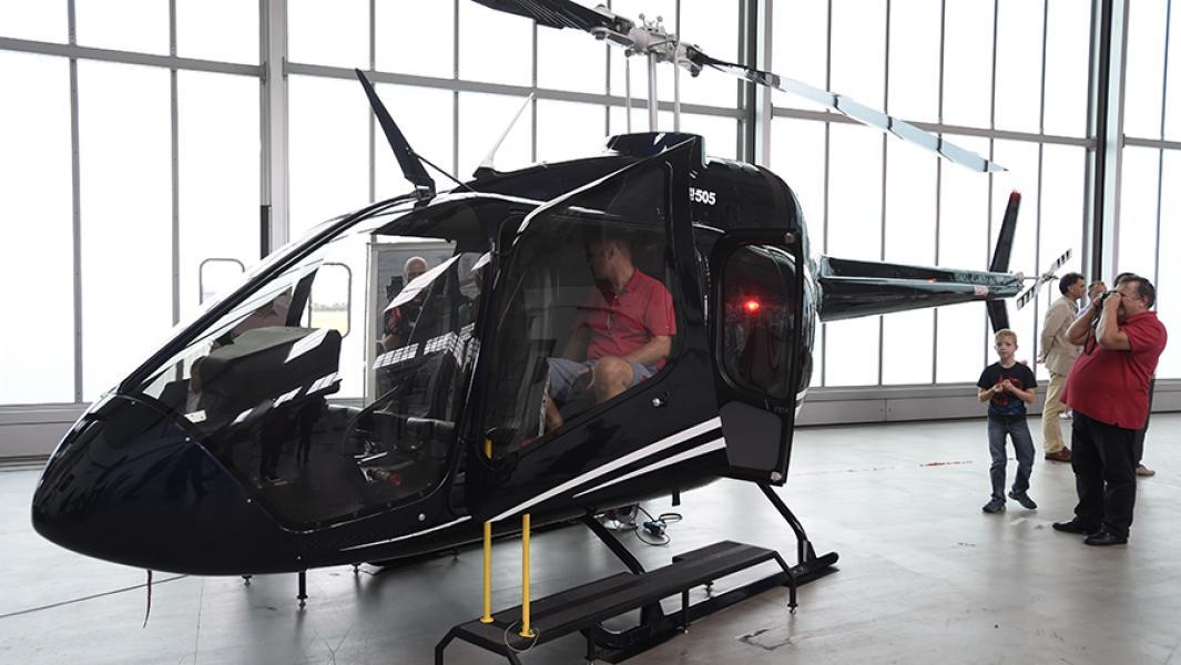 Американский вертолетHelicopter Bell 505 Jet Ranger X.