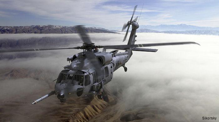 Вертолет HH-60W.