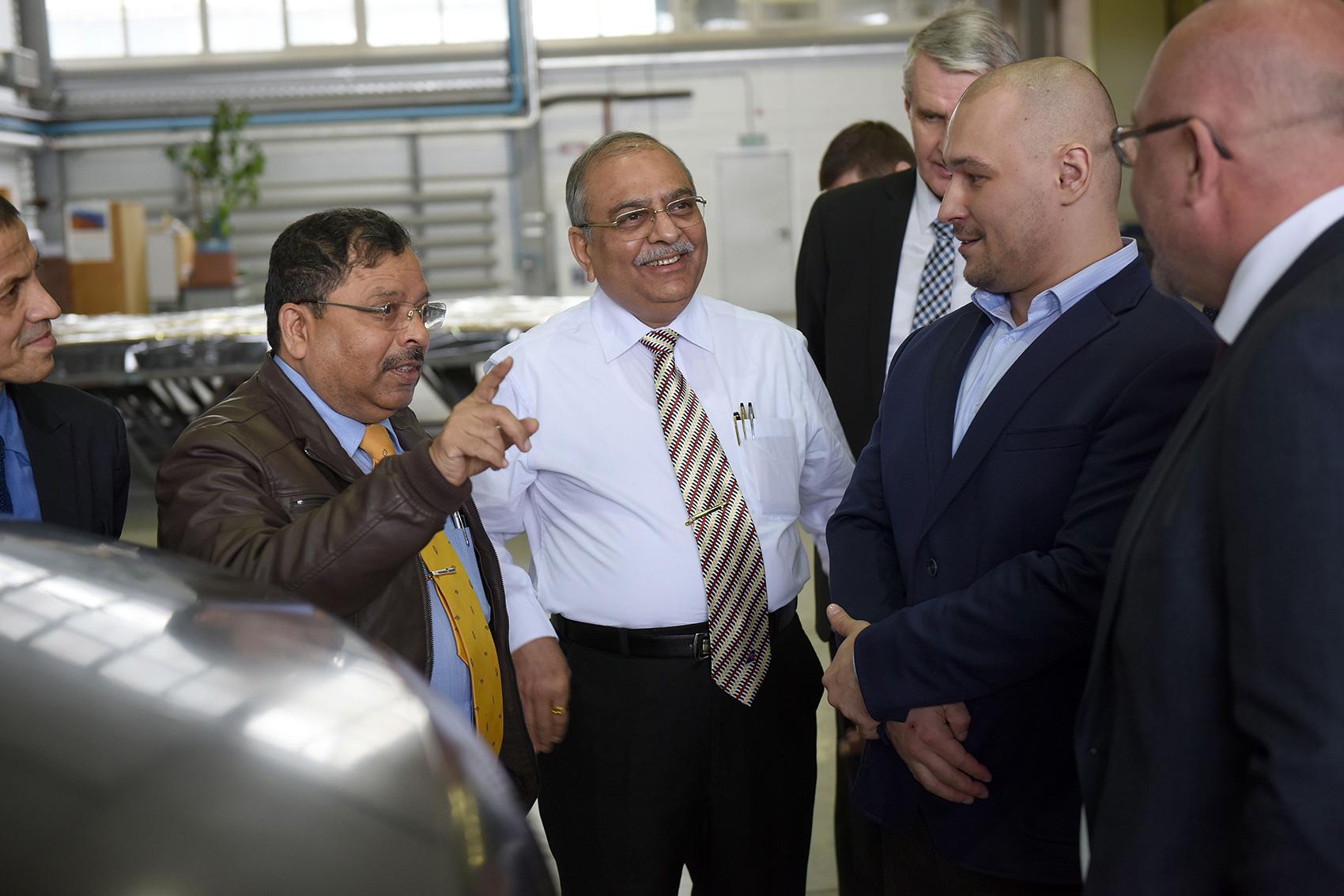 Представители холдинга «РТ-Химкомпозит» и индийской корпорации «Larsen & Toubro» обсудили перспективы сотрудничества.