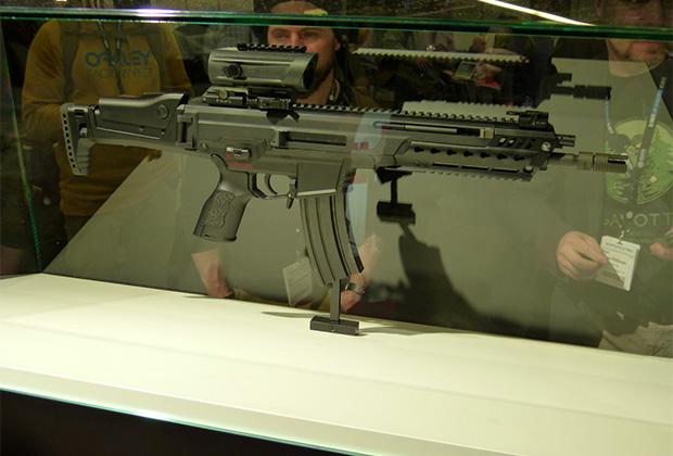 Немецкий Heckler&Koch HK433