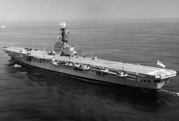 HMAS Melbourne.