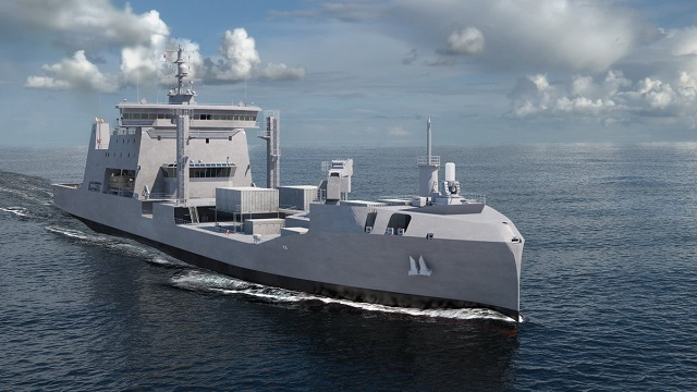 Рисунок HMNZS Aotearoa  ВМС Новой Зеландии.