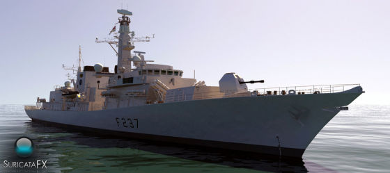 HMS Westminster Type 23