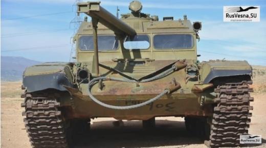 Ходовой тренажер вождения (ХТВ) для подготовки механиков-водителей основных боевых Т-72.