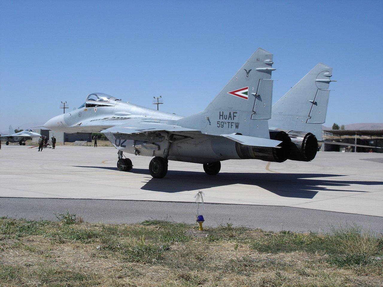 МиГ-29 ВВС Венгрии. Источник: