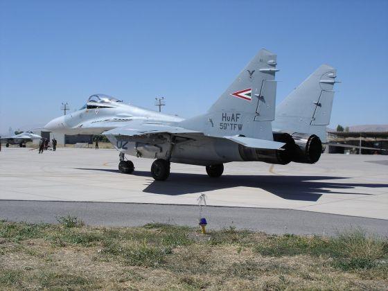 МиГ-29 ВВС Венгрии