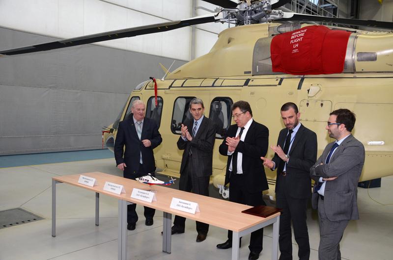 Получение «Свидетельства АР МАК об одобрении производства гражданских вертолетов AW139».