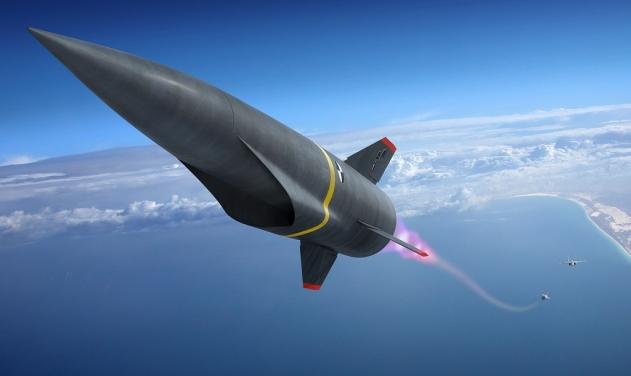 Концептуальное изображение гиперзвуковой неядерной крылатой ракеты авиационного базирования по программе ВВС США Hypersonic Conventional Strike Weapon (HCSW).