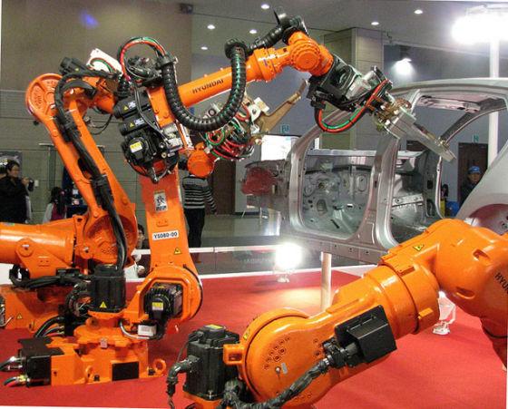 "Роботы ""Hyundai"""