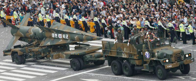 Оперативно-тактическая ракета Hyunmoo-1.