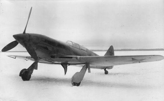 МиГ-11 с мотором АМ-37