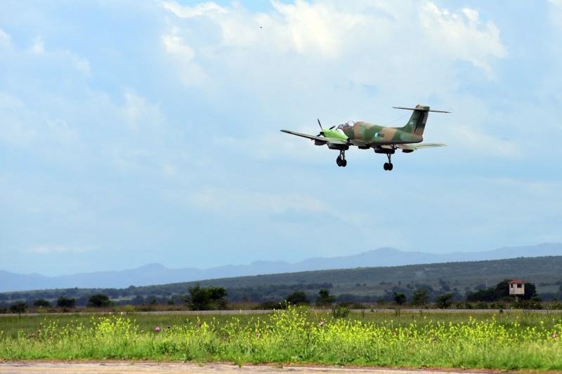 Первый полет опытного образца ремоторизованного аргентинского легкого штурмовика IA-58H Pucara (бортовой номер АХ-561), оснащенного турбовинтовыми двигателями Pratt & Whitney Canada PT-6A-62. Кордоба, 24.11.2015.