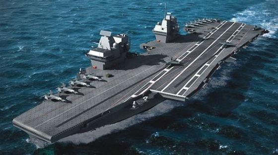 Авианосец IAC II