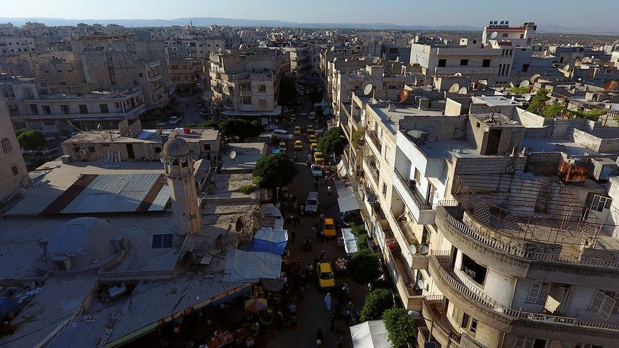 Идлиб (Сирия), 2017 год.
