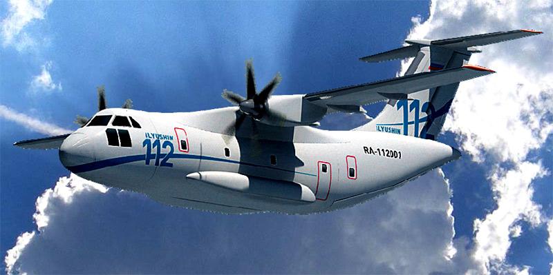 Рисунок самолета Ил-112