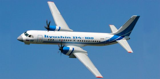 Самолет Ил-114