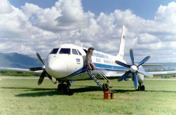 Пассажирский самолет Ил-114