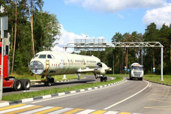 Транспортировка Ил-114