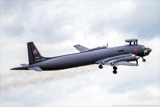 Противолодочный самолет Ил-38Н