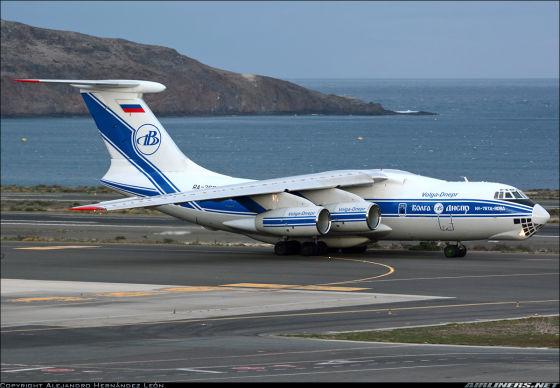 Самолет Ил-76ТД-90А
