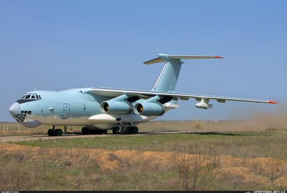 Самолет-заправщик Ил-78