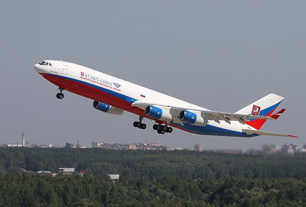 Ил-96 СЛО «Россия».