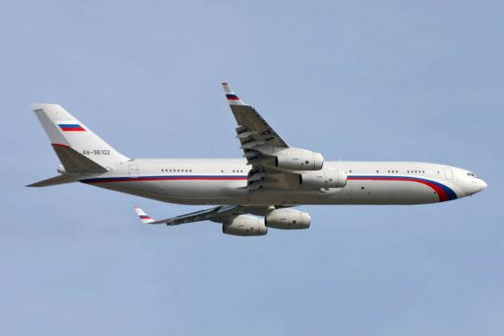 Самолет Ил-96 для перевозки VVIP